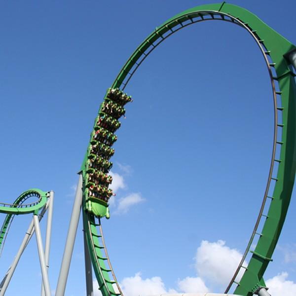 Roller Coaster nabiera prędkości