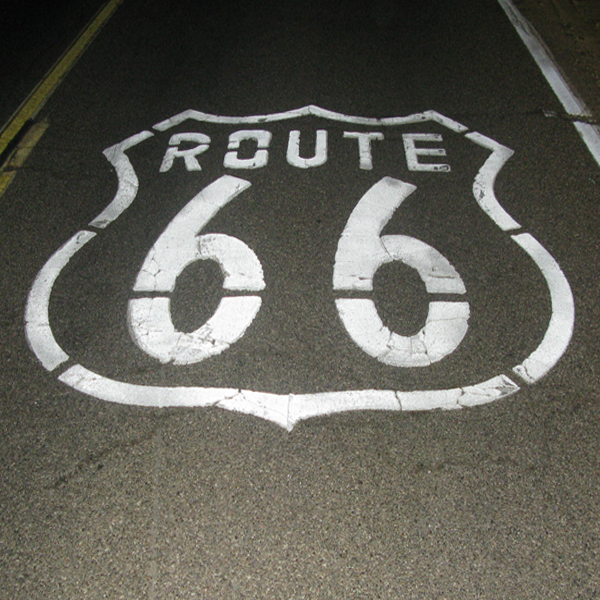 Droga 66 Chicago – Los Angeles 2448 miles