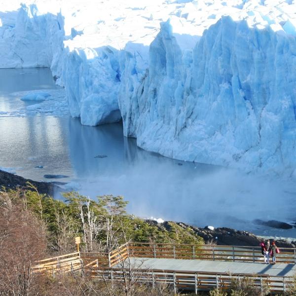 Lodowiec Perito Moreno za jednego dolara